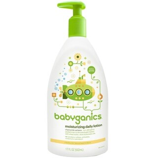 BabyGanics Moisturizing Daily Lotion 17-ounce Chamomile Verbena