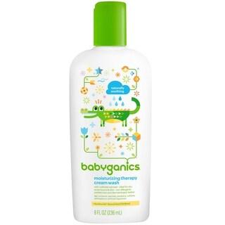 BabyGanics Moisturizing Therapy Cream Wash - 8-ounce