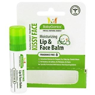 BabyGanics Lip and Face Balm .25-ounce Fragrance-free
