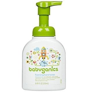 BabyGanics Fine and Handy Foaming Hand Soap 8.45-ounce (Fragrance-free)