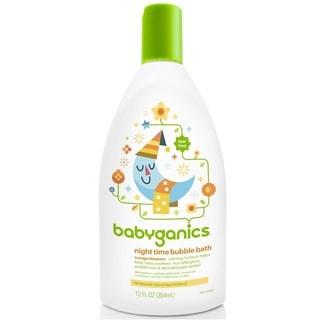 BabyGanics Night Time Bubble Bath Orange Blossom - 12-ounce