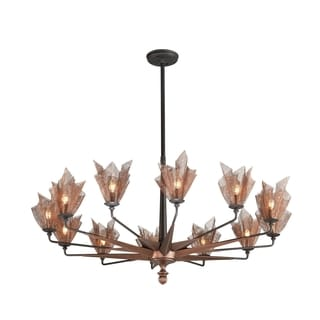 Troy Lighting Copperfield 12-light Chandelier
