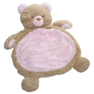 Mary Meyer Bestever Baby Mat - Pink Bear