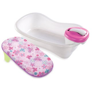 Summer Infant Newborn-to-Toddler Pink Bath and Shower Center