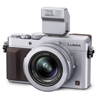 Panasonic Lumix DMC-LX100 12.8MP Silver Digital Camera