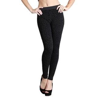 Nikibiki Women's Seamless Vivid Leopard Print Ankle Length Leggings (5 options available)