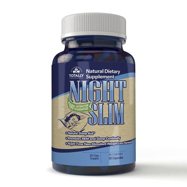 Totally Products Night Slim Night Time Weight Loss Pills 30 Capsules