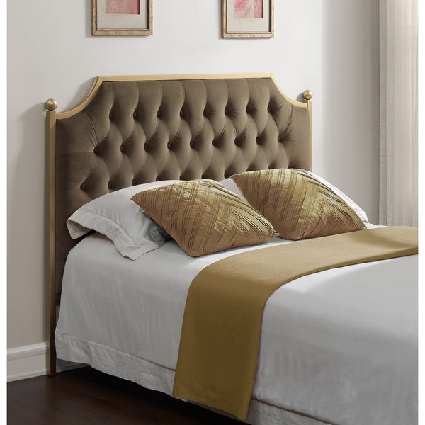 shop victorian tufted queen size headboard free shipping today 9753089. Black Bedroom Furniture Sets. Home Design Ideas