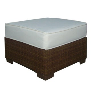 Panama Jack St Barths Ottoman with Cushion