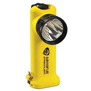 Survivor LED Flashlight (Yellow Rechargeable)