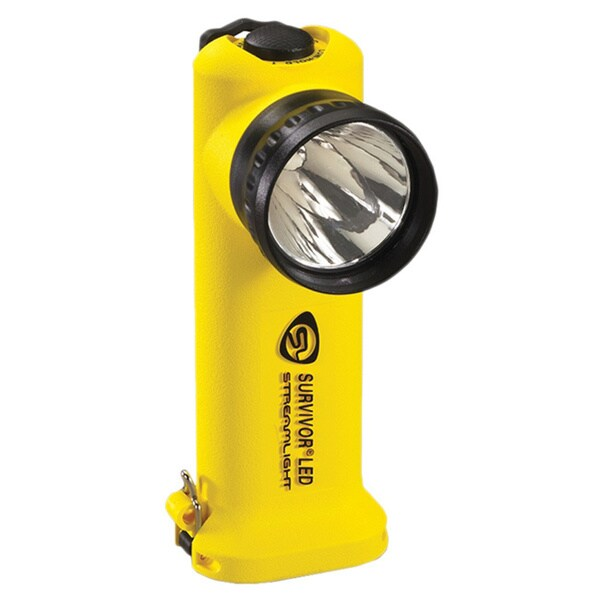 Survivor LED Flashlight (Yellow AC/ DC)