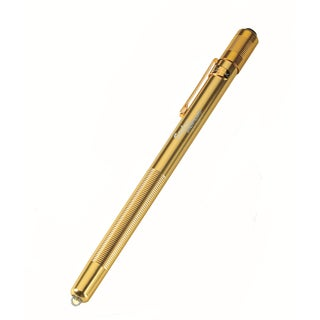 Stylus Gold Body/ White LED Flashlight