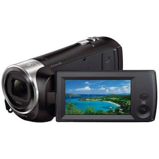 Sony HDR-CX240 Full HD Black Handycam Camcorder|https://ak1.ostkcdn.com/images/products/9753246/P16925679.jpg?impolicy=medium