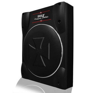 Pyle 8-inch Super Slim Active Amplified Subwoofer System (Refurbished)