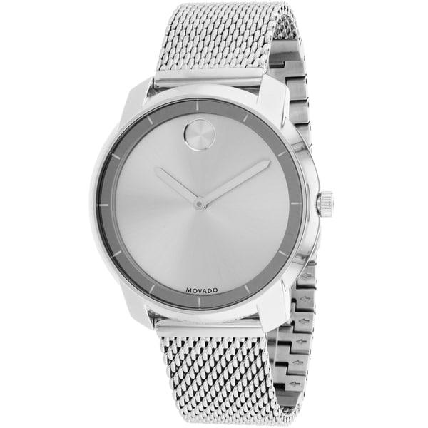 Movado Women's Bold Round Silvertone Watch