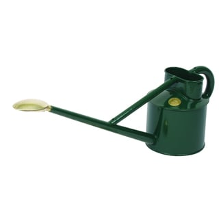 Haws Professional 0.9-gallon Metal Green Watering Can