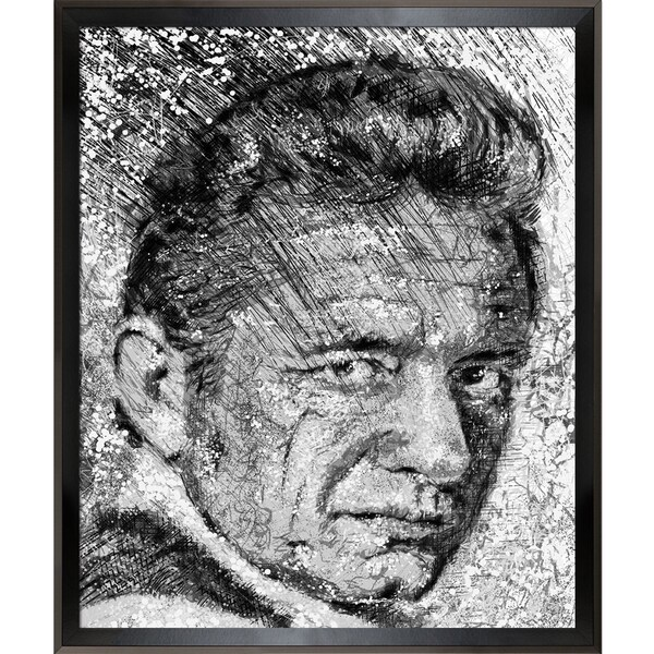 Jeffrey Pierson Johnny Cash Framed Fine Art Print - Free Shipping ...