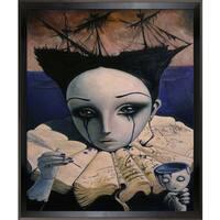 Adrian Borda  The Story of My Hopes Framed Fine Art Print