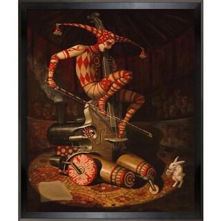 Adrian Borda Agaric Flying Dutchman Framed Fine Art Print