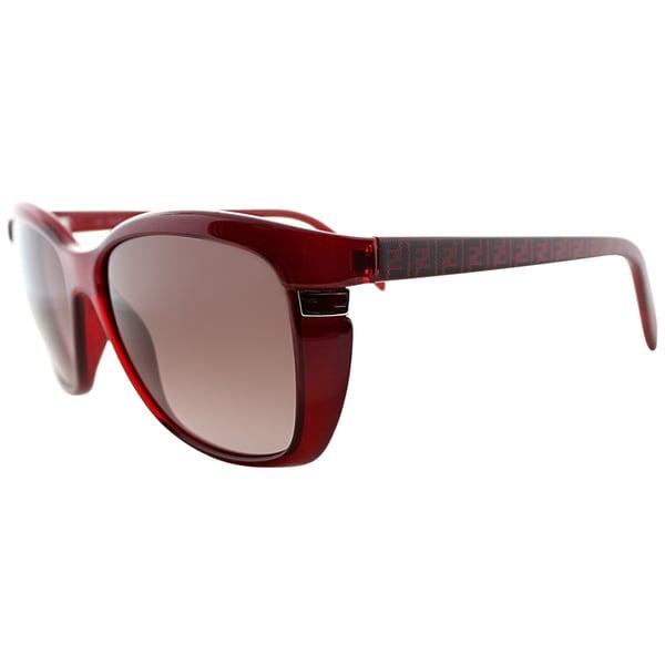 womens red sunglasses  Fendi Women\u0027s FS 5258 618 Red Soft Cat Eye Sunglasses - Free ...