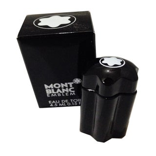 Mont Blanc Emblem Men's 0.15-ounce Eau de Toilette Miniature Splash