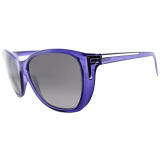 Fendi Womens FS 5219 513 Purple Cat Eye Sunglasses