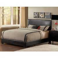 Duncan Queen Faux Leather Bed