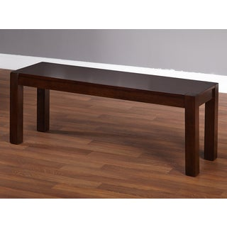 Simple Living Axis Espresso Accent Dining Bench