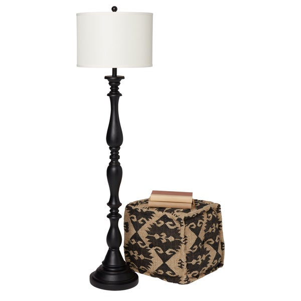 Abbyson Melrose Espresso Floor Lamp - Free Shipping Today ...