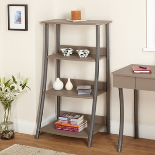 Simple Living Taupe Finn 4-tier Shelf