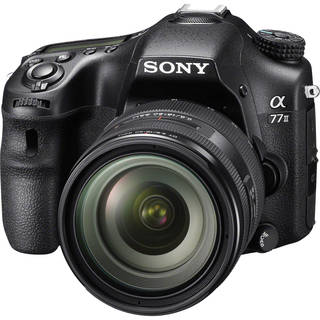 Sony Alpha a77II DSLR Camera with 16-50mm f/2.8 Lens