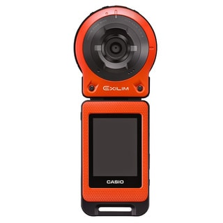 Casio Freestyle 14MP Orange Digital Camera