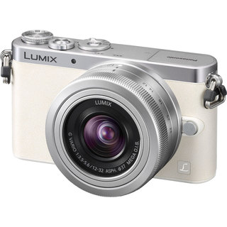 Panasonic GM1 White Digital Camera with 12-32mm Lens