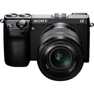 Sony NEX7 Black Digital Camera with 18-55mm Lens Manufacturer Refurbished