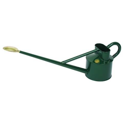 English Garden Haws Professional 1.2 Gallon Outdoor Metal Watering Can