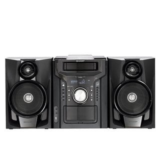 Sharp CDDH950P Mini Audio System with 30-pin iPod/ iPhone Dock (Refurbished)