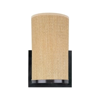 Elements 1-light Bronze Metal Wall Sconce