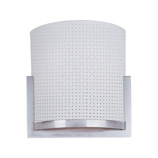 Elements Nickel 2-light Wall Sconce