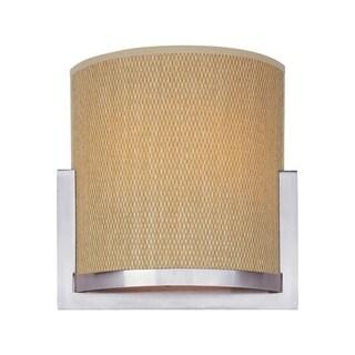 Elements Nickel Metal 2-light Wall Sconce
