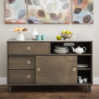 Marley Light Charcoal Transitional Buffet