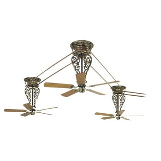 Fanimation Bourbon Street 3 Unit Long Neck Ceiling Fans