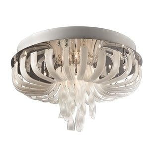 Lite Source Ribbon 12-light Flush Mount