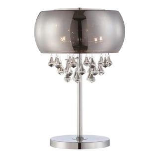 Lite Source Smoked 4-light Table Lamp