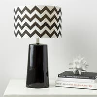 Modern Chevron Ceramic Harper Lamp