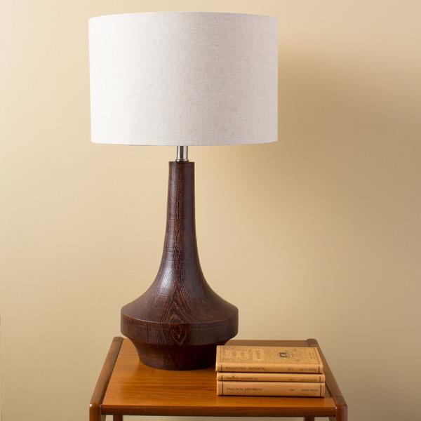 Artistry Design Resin Dark Brown Harvest Lamp