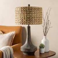 Artistry Design Resin Grey Harvest Lamp