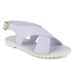 Fahrenheit Women's Polly-04 T-strap Buckled Sandals