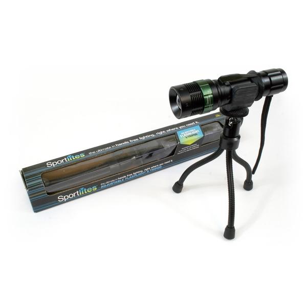 Sportlites Adjustable Flashlight with Tripod Stand