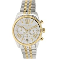 Michael Kors Women's MK5955 'Lexington' Chronograph Two Tone Stainless Steel Watch