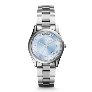 Michael Kors Women's MK6068 'Colette' Blue Dial Stainless Steel Watch